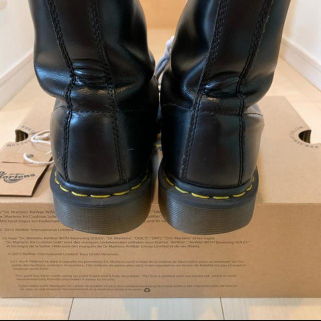 Dr.Martens(ドクターマーチン)の★Dr.martens★ ドクターマーチン 8ホール uk7 白紐 メンズの靴/シューズ(ブーツ)の商品写真