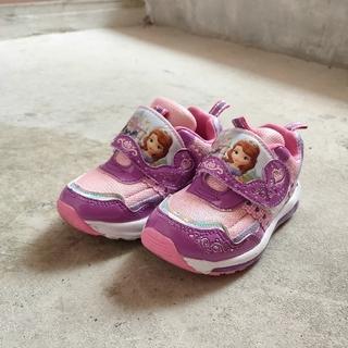 Disney - ディズニー ソフィア 光る靴 15センチ
