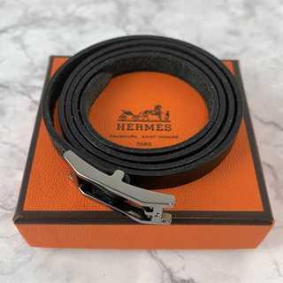 Hermes - ❤セール❤ 【エルメス】 ベルト 黒 箱付き レディース レザー ブランド