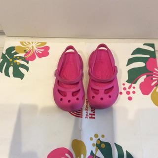 クロックス(crocs)の女の子 クロックス 14cm(サンダル)