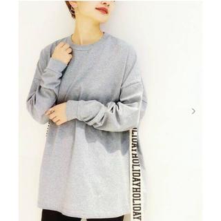 ホリデイ(holiday)のHOLIDAY ホリデイ SUPER FINE DRY MINI DRESS(Tシャツ(長袖/七分))