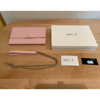 アニエスベー(agnes b.)のアニエス・べー 長財布ポシェット(財布)