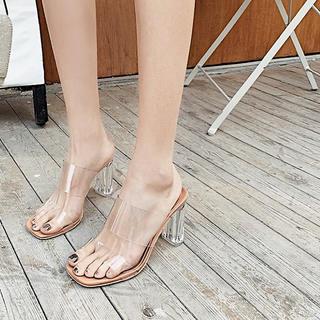 ZARA - ❊clear sandal ❊