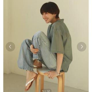 TODAYFUL - silk boyfriend shirt♡