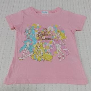 バンダイ(BANDAI)のプリキュア 半袖 Tシャツ 100 プリンセスプリキュア ピンク(Tシャツ/カットソー)