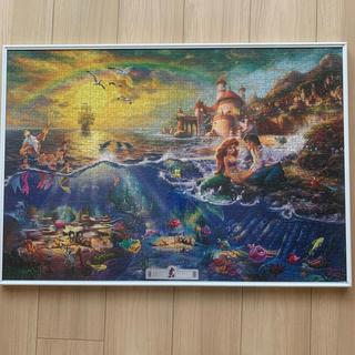 ディズニー(Disney)のディズニー(アリエル)パズル完成品1000ピース  ※フレーム付(絵画/タペストリー)