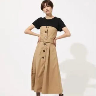 AZUL by moussy - AZUL by moussy トレンチベアワンピース