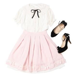 ロディスポット(LODISPOTTO)の【mille fille closetby LODISPOTTO】美品 スカート(ひざ丈スカート)