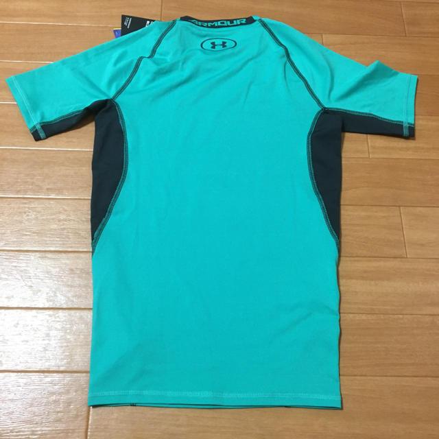 UNDER ARMOUR(アンダーアーマー)のアンダーアーマー  コンプレッション ヒートギアSM メンズのトップス(Tシャツ/カットソー(半袖/袖なし))の商品写真