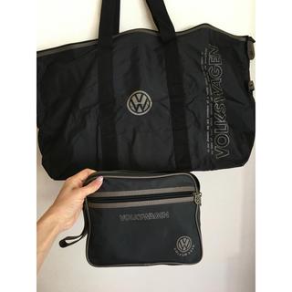 フォルクスワーゲン(Volkswagen)の【Volks wagen】ビックバッグ&ポーチ付き(ボストンバッグ)