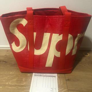Supreme - 20SS Supreme Raffia RED