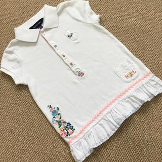 Ralph Lauren - (4T/110㎝)■ラルフローレン/RALPHLAUREN■刺繍白ポロシャツ