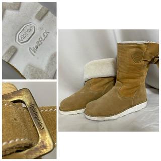 ウノピゥウノウグァーレトレ(1piu1uguale3)の定価12万円 1PIU1UGUALE3 シベリアブーツ ムートンブーツ 41(ブーツ)