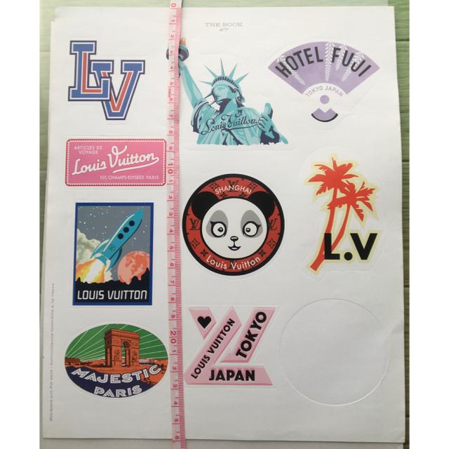LOUIS VUITTON(ルイヴィトン)の訳あり。LOUISVUITTONステッカー。正規品。 レディースのファッション小物(その他)の商品写真