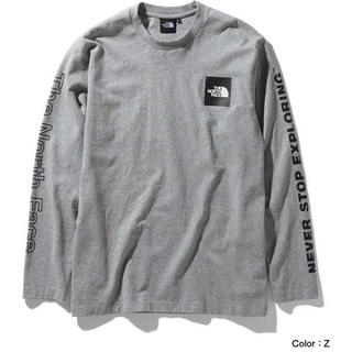 THE NORTH FACE - THE NORTH FACE】L/S Sleeve Graphic Tee