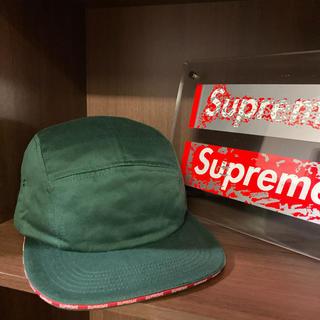 Supreme - Supreme シュプリーム 16aw Visor Logo Camp Cap