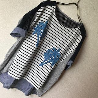 スコットクラブ(SCOT CLUB)のアサクラ⭐︎異素材トップス⭐︎最終価格(Tシャツ(半袖/袖なし))