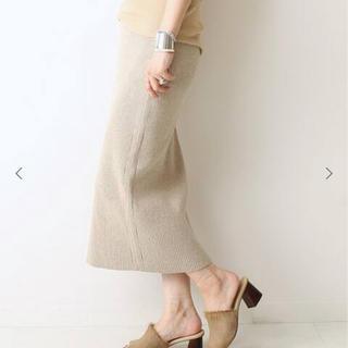 ドゥーズィエムクラス(DEUXIEME CLASSE)のikat風スカート36(ひざ丈スカート)