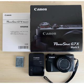 キヤノン(Canon)のCanon Power Shot G7X Mark II (コンパクトデジタルカメラ)
