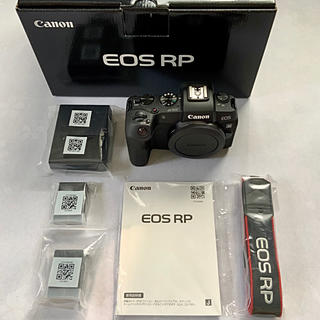Canon - Canon EOS RP ボディ(純正バッテリー2個付)