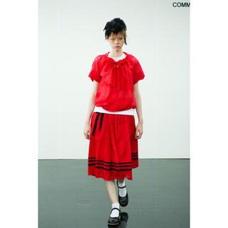 コムデギャルソン(COMME des GARCONS)のricot COMME des GARCONS スカート(ロングスカート)