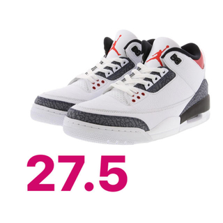 NIKE - 27.5cm NIKE AIR JORDAN 3 DENIM