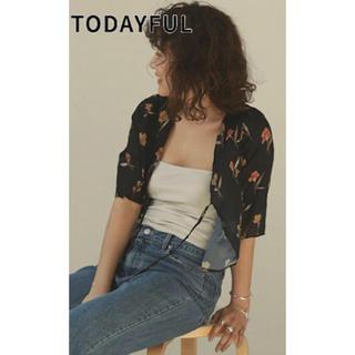 TODAYFUL - TODAYFUL Georgette Flower Cardigan