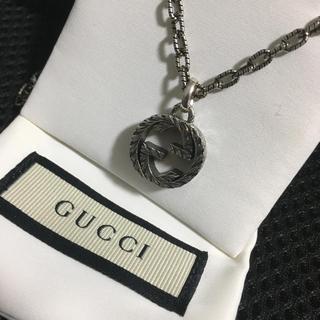 Gucci - インターロッキングG ペンダント ネックレス