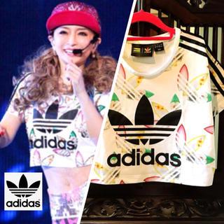 adidas - あゆ着用 アディダス ファレル Tシャツ トップス 花柄 タンクトップ