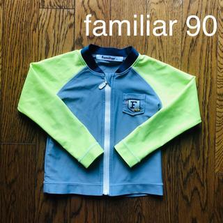 familiar - familiar ラッシュガード サイズ90