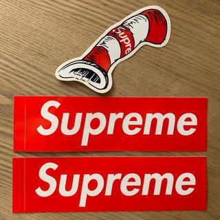 シュプリーム(Supreme)のsupreme Supreme   シュプリーム ステッカー(ステッカー)