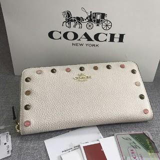 COACH - coach新品未使用 coach コーチ 長財布F58551