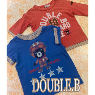 DOUBLE.B - MIKI HOUSE(DOUBLE.B )Tシャツ