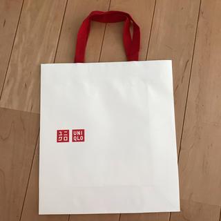 ユニクロ(UNIQLO)の紙袋(ショップ袋)
