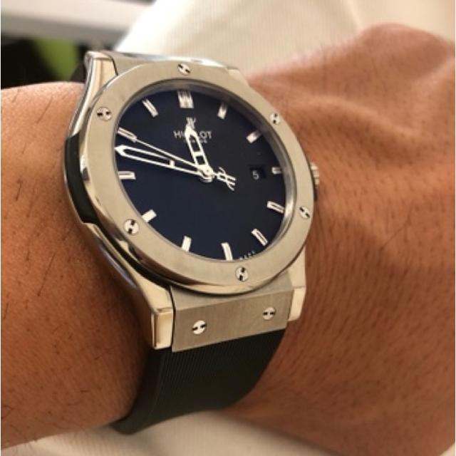 HUBLOT(ウブロ)のウブロ クラシックフュージョン 45㎜ メンズの時計(腕時計(アナログ))の商品写真
