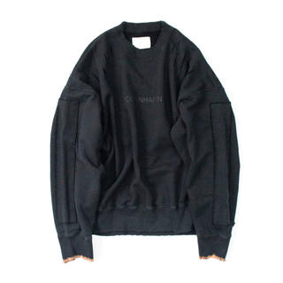 SUNSEA - 【stein】20aw Oversized Rebuild Sweat