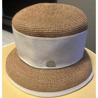 フォクシー(FOXEY)のフォクシー帽子 美品(麦わら帽子/ストローハット)