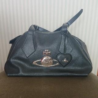 Vivienne Westwood - Vivienne Westwood・ビッグオーブボストンバッグ 黒 Italy製