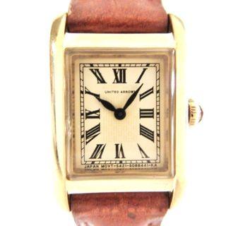 ユナイテッドアローズ(UNITED ARROWS)のアローズ 腕時計 - 5421-S058317 ベージュ(腕時計)