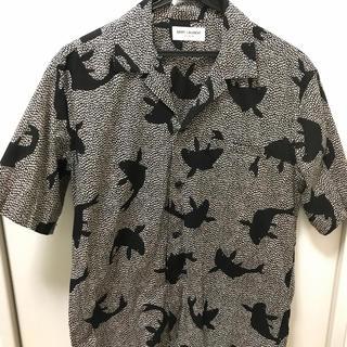 Saint Laurent - SAINT LAURENT オープンカラーシャツ