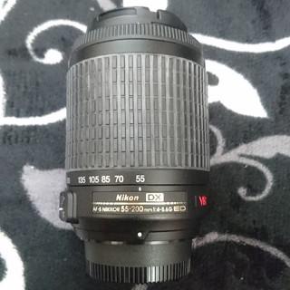 カメラレンズ Nikon ニコン AF-S DX VR 55-200㎜ f