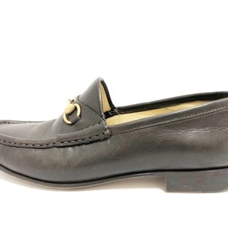 グッチ(Gucci)のグッチ ローファー 7B レディース レザー(ローファー/革靴)