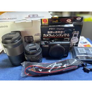 Canon - Canon ミラーレスカメラ EOS M100