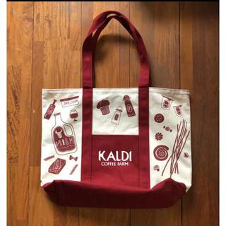カルディ(KALDI)のKALDI 2020福袋限定 トートバッグ エコバッグにも(エコバッグ)