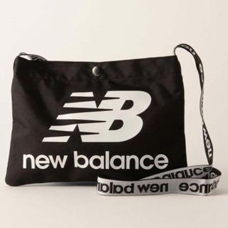ニューバランス(New Balance)のニューバランス サコッシュ ブラック ショルダーバッグ 黒 ユニセックス(ショルダーバッグ)
