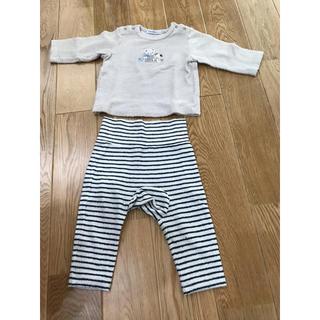 ファミリア(familiar)のファミリア パジャマ 長袖 80(パジャマ)
