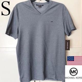 マイケルコース(Michael Kors)のレア 新品 MICHAEL KORS USA メンズTシャツ S ブラック(Tシャツ/カットソー(半袖/袖なし))