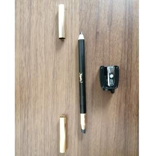 イヴサンローランボーテ(Yves Saint Laurent Beaute)のYSL ペンシル アイライナー 黒 シャープナー付(アイライナー)