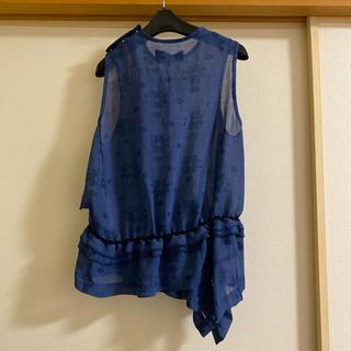 コムデギャルソン(COMME des GARCONS)のtricot COMME des GARCONS  ブラウス(シャツ/ブラウス(半袖/袖なし))