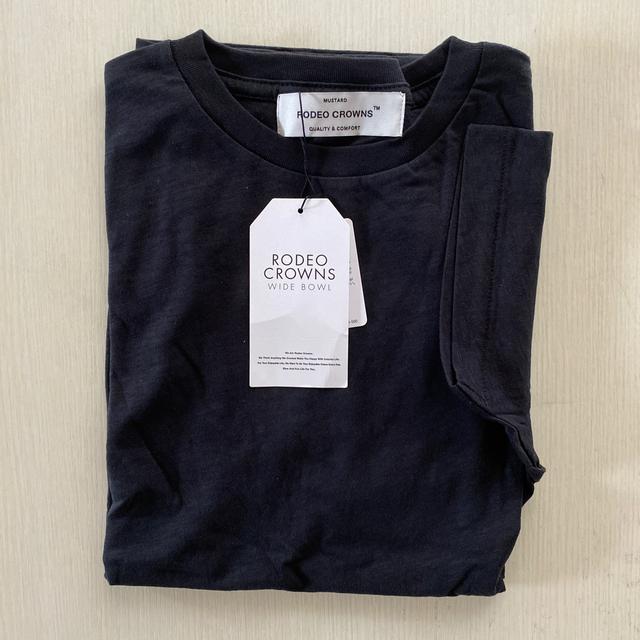 RODEO CROWNS WIDE BOWL(ロデオクラウンズワイドボウル)のRODEO CROWNS WIDE BOWL ♡ クルーネック Tシャツ レディースのトップス(Tシャツ(半袖/袖なし))の商品写真